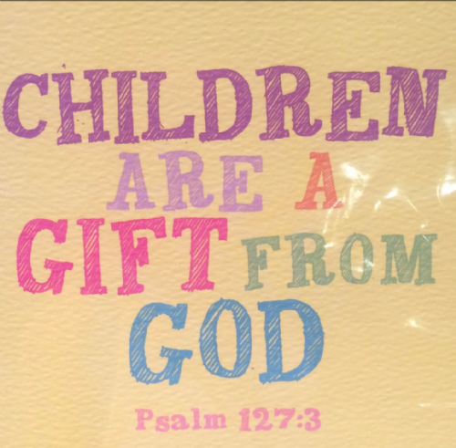 Children are a gift from God